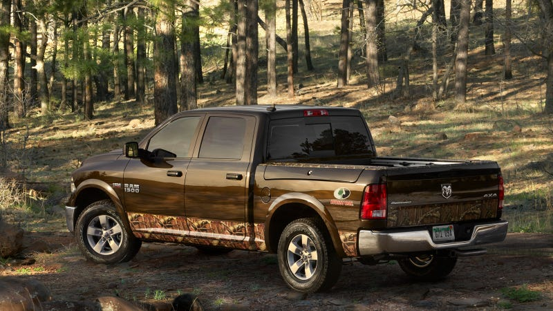 Announce Your Outdoorsmanliness With Hunting Camo-Trimmed Ram