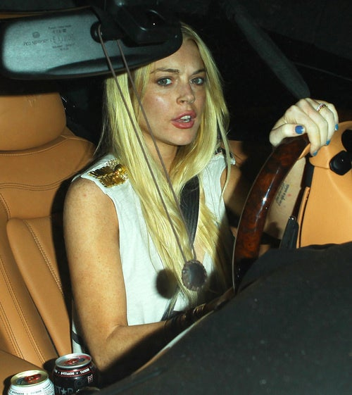 Lindsay Lohan's 'Hit-and-Run' Dissolves Into Paparazzi Squabbling