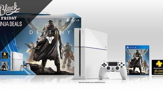The White PS4 Destiny Bundle Joins the Black Friday Fray