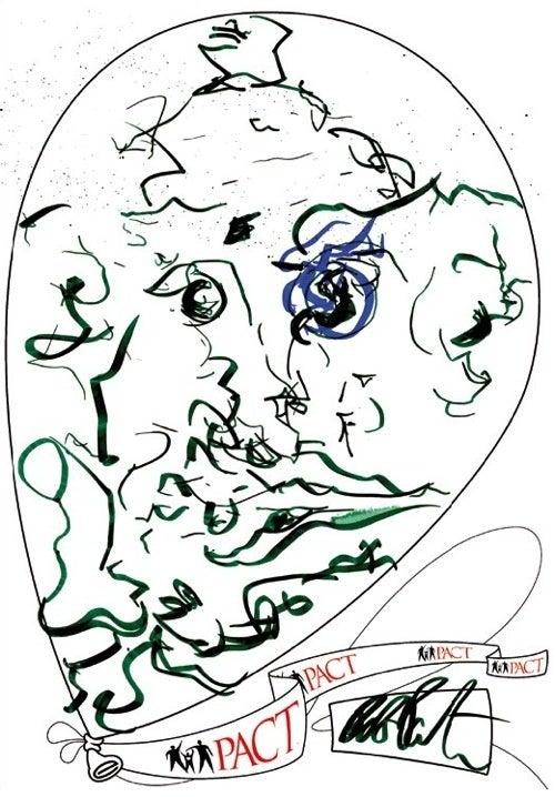 Buy Robert Pattinson's Doodles For Just $950