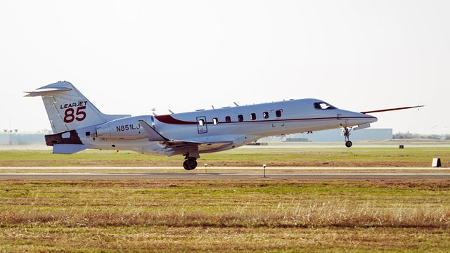 The Lear 85 Will Be Bigger, Faster, Fly Farther Than Any Learjet Ever