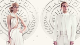 Peeta and Johanna Look Fashionable, Angsty in New <em>Mockingjay</em> Images