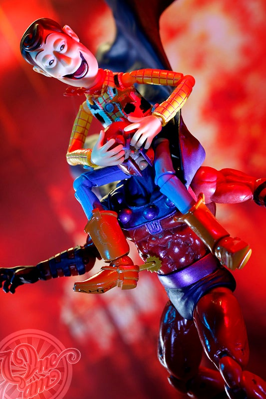 Creepy Woody Trolling the World's Coolest Figures and Toys