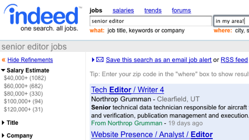 Hive Five Winner for Best Online Job Search Site: Indeed