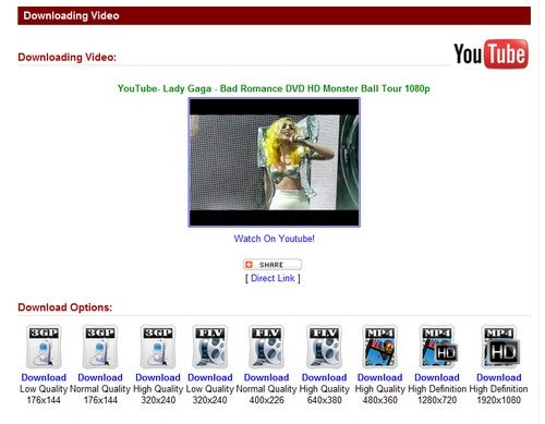Keep Tube Grabs HD Videos From Popular Tube Sites