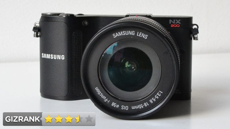 Samsung NX200 Lightning Review: It Has More Megapixels, But...