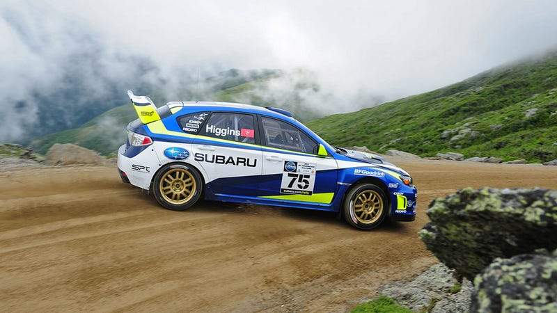Subaru sets new fastest time up Mt. Washington