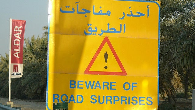 The ten weirdest road signs