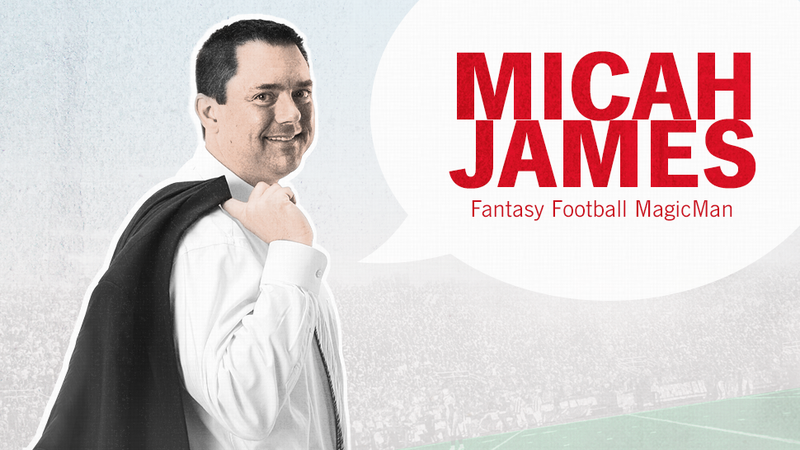 The Fantasy Football Magic Man Is Back To Guide You Toward The Playoffs
