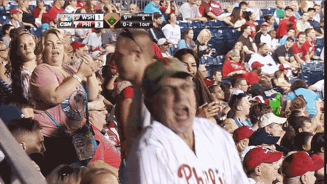 The Hell Is Wrong With This Phillies Fan?