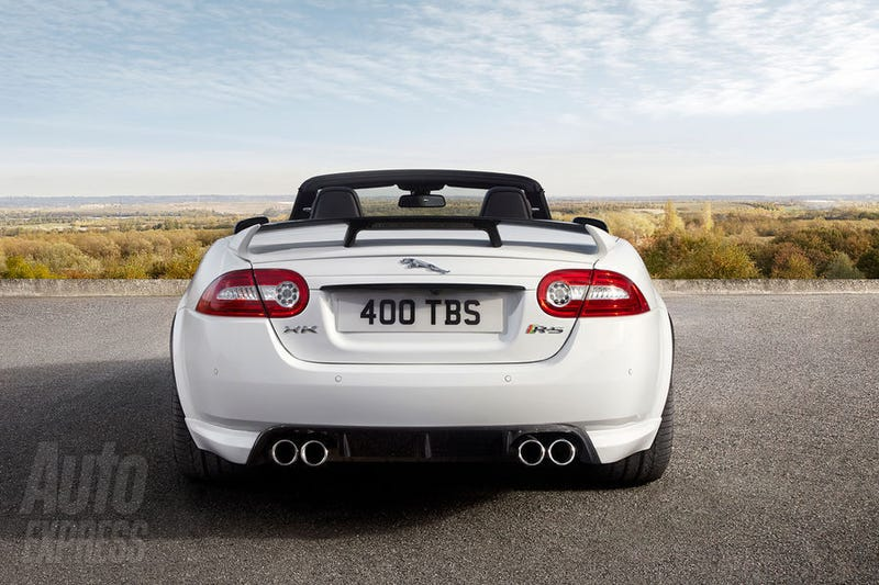Jaguar XKR-S Convertible: First Photos