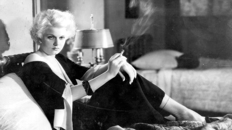 Jean Harlow's Signature Blonde Hair May Have Helped Kill Her