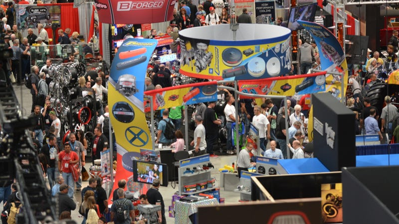 Yes, SEMA Is Ridiculous, But There's Very Good Reason For That