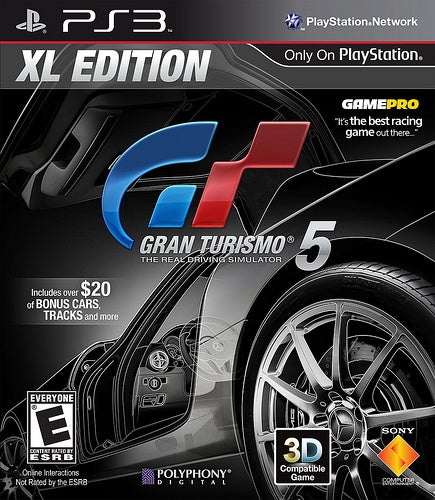 A Much-Improved Version of Gran Turismo 5 Hits Stores January 17