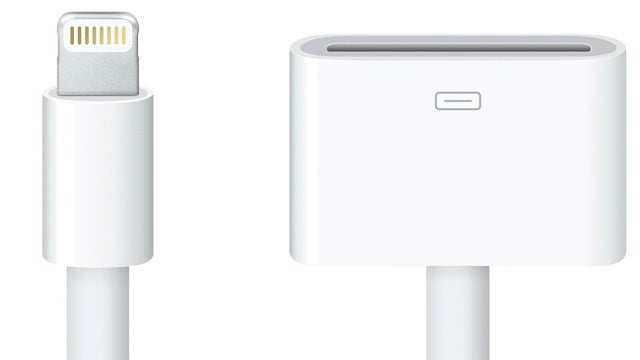 This Is the Ugly iPhone 5 Lightning Adapter You'll Need For All Your Old Accessories