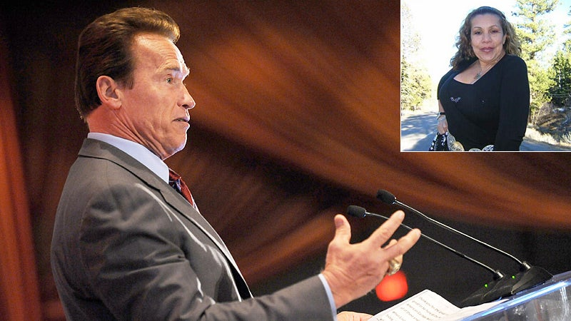 Schwarzenegger Mistress Identified
