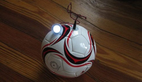 A Soccer Ball To Light Up Developing Nations
