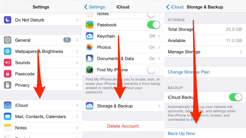 Reminder: Back Up Your Stuff Before iOS 8 Drops