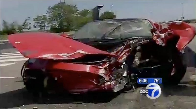 New Jersey Motorcyclist Killed In Crash With Two Rental Ferraris