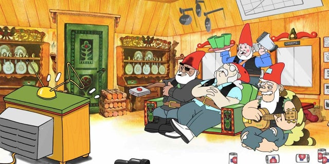 Watch the first episode of Gnomeland Security, a cartoon about drunk anti-terrorist gnomes