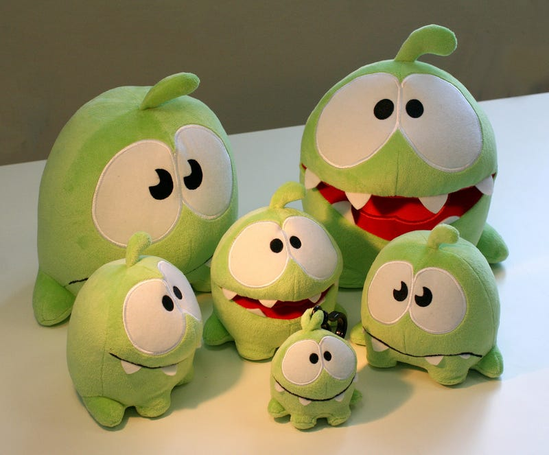 Bury Me Deep Beneath These Cut the Rope Plushies
