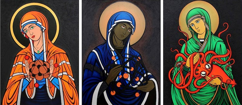Behold, The Madonnas of Science