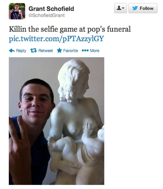 YOLO: 'Selfies at Funerals' Is the Last Tumblr You See Before You Die