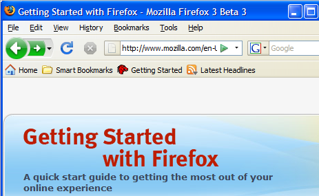 Firefox 3 Beta 3 Now Available