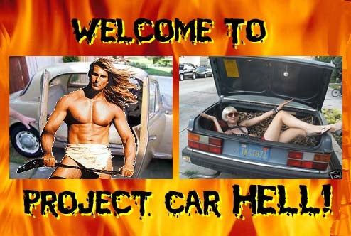 Project Car Hell, Sorta Famous Edition: Fabio's Lancia or Pauley Perrette's Volvo?