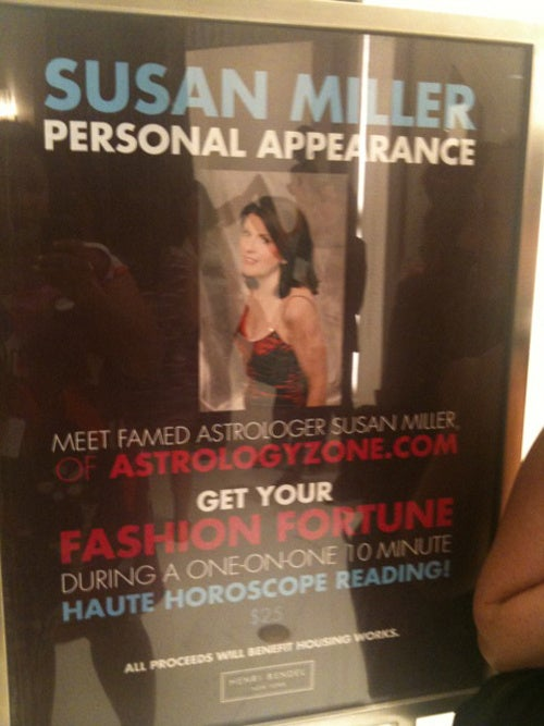 The Stars Did Not Align When I Tried To See Susan Miller On Fashion's Night Out