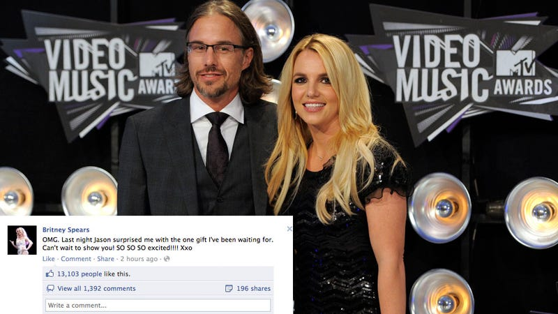 Britney Spears Is Engaged to Surprisingly Normal Jason No. 2