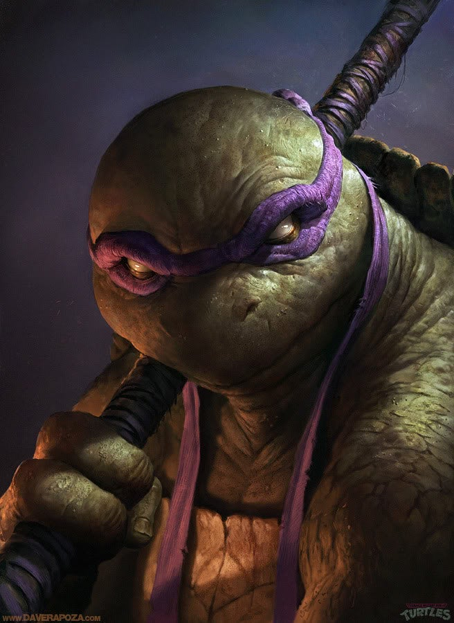 If You Like He-Man, TMNT or Dark Souls, You Need to see These Amazing Paintings