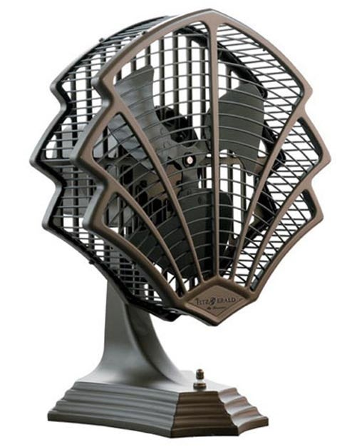 Fitzgerald Art Deco Fan Convinces Us to Ditch Central Air