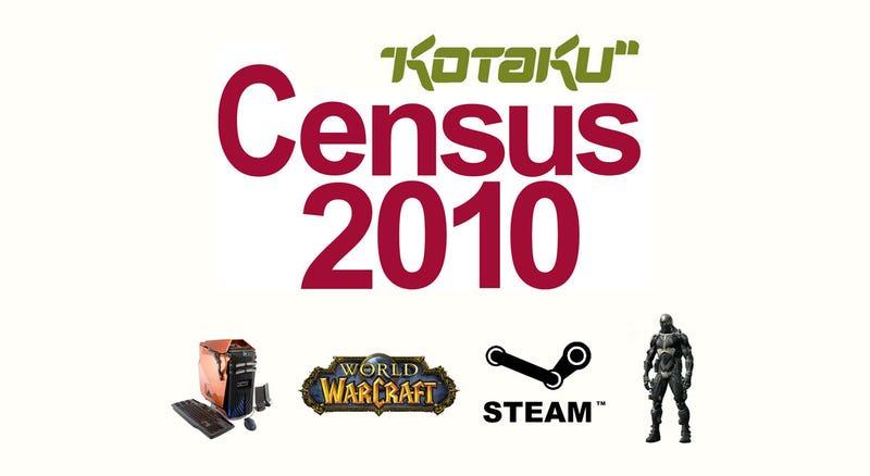 Kotaku Census 2010: The Personal Computer