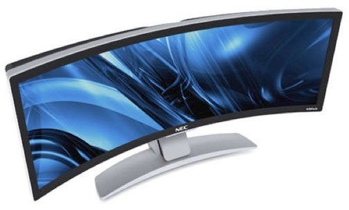 Stunning NEC CRV43 43-Inch Curved Monitor Is Stunningly Expensive