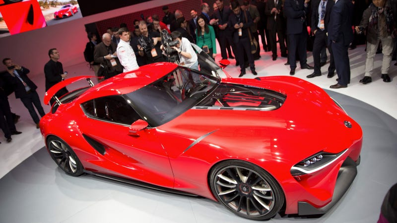 The Toyota FT-1 Should Be The Next Toyota Supra