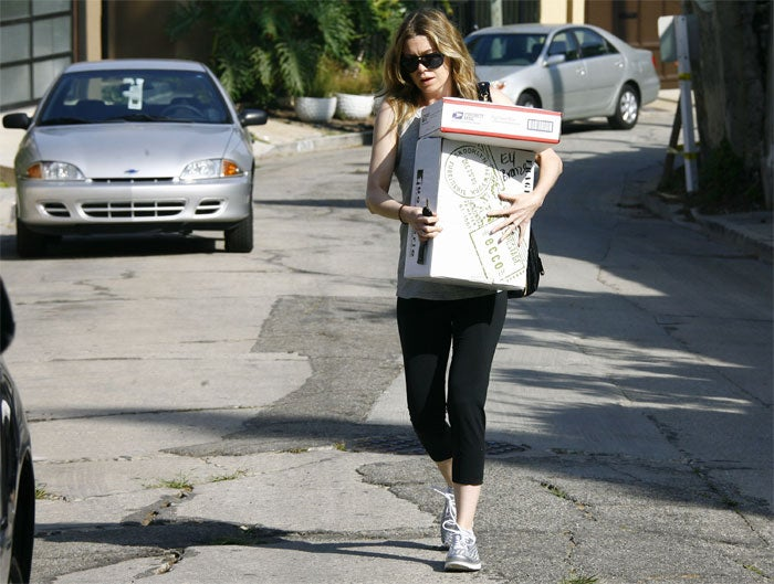 Pregnant Pompeo Already Has Special Delivery