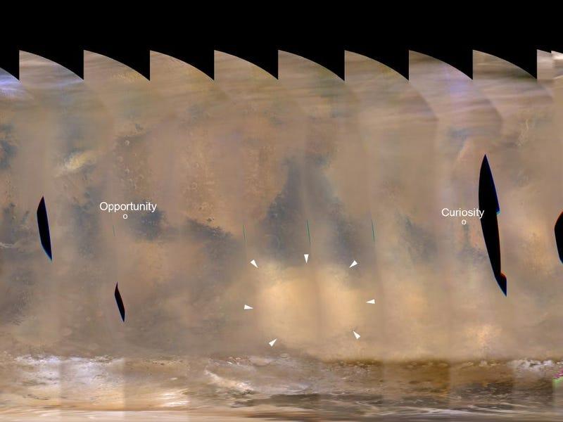 The Woman Who Created Mars Mosaics The Hard Way