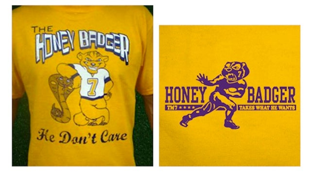 """Honey Badger Does Care"": LSU Is Cracking Down On The Proliferation Of Tyrann Mathieu T-Shirts"