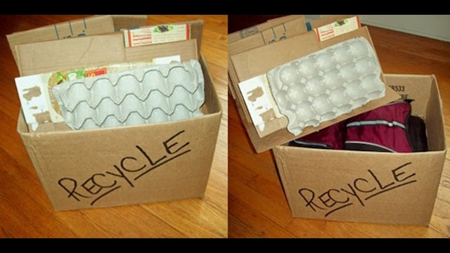 DIY Fake Recycling Box Makes Your Car Less Susceptible to Break-Ins