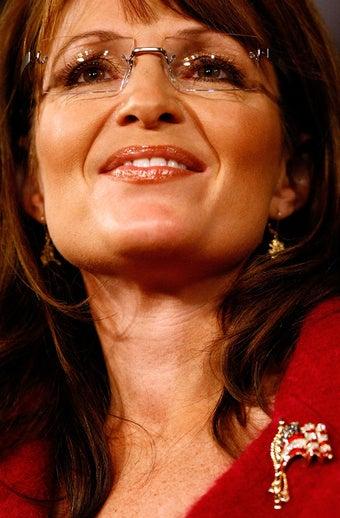 Future President Sarah Palin Pals Around with Operating Thetan