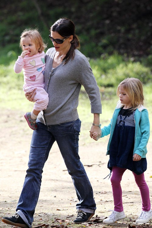 Jennifer Garner And Her Two Little Doppelgangers Step Out