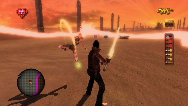 No More Heroes For PS3 Boasts Big Beam Katanas