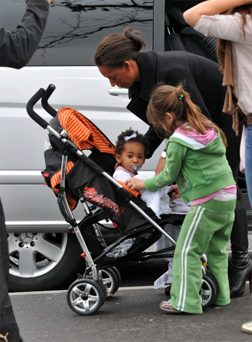 Mel B.'s Baby Is Just Asking To Be Eaten