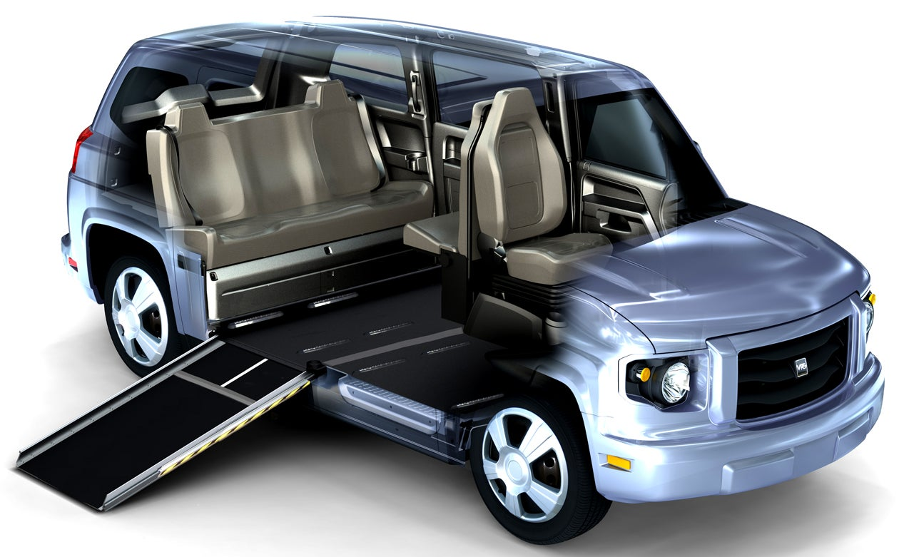 The Car Built Specifically For People With Disabilities Is ...