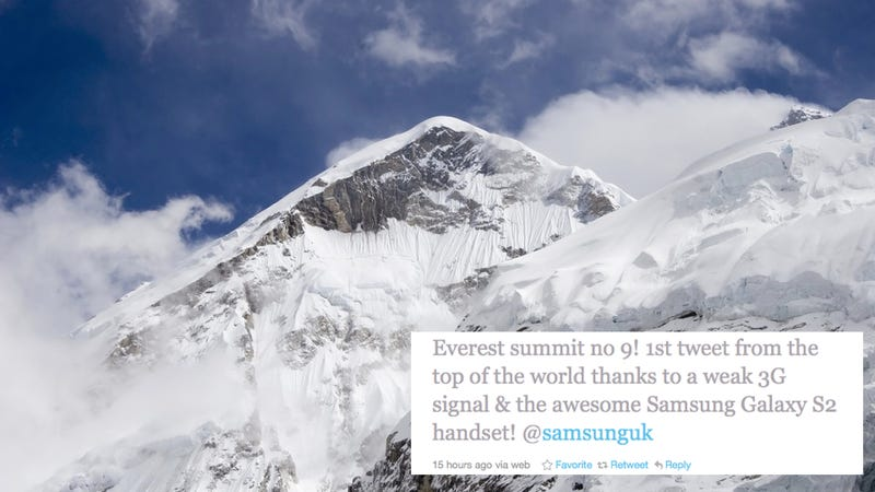Twitter Scales Mount Everest. Is Nowhere Sacred?