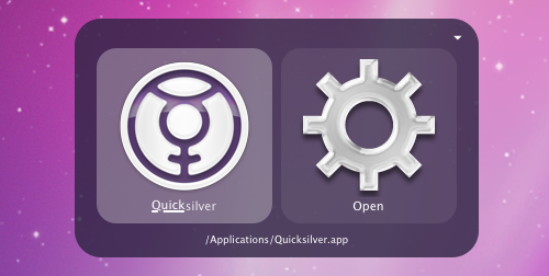 Quicksilver Releases Update, Improves Performance