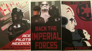 Propaganda Posters From The Dawn Of <em>Star Wars</em>' Galactic Empire