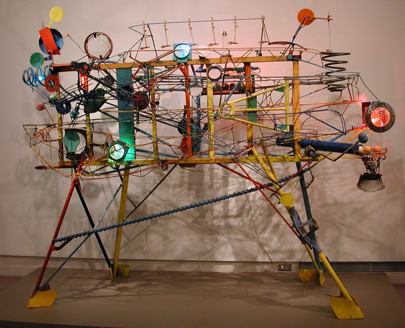 Play a Game of Billiards On This Incredible Kinetic Sculpture
