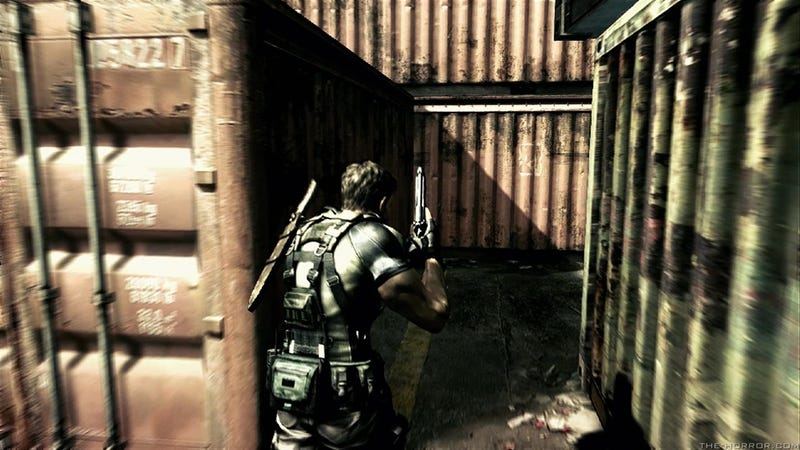 Hey! Look! New Resident Evil 5 Scenes From PSN